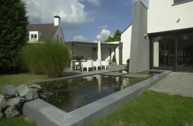Tuin met zwembad projecten oxalis for Eigen zwembad in de tuin